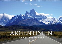 Argentinien – Von Iguazu bis Feuerland (Wandkalender 2020 DIN A2 quer) von Richter,  Uwe