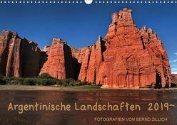 Argentinische Landschaften 2019 (Wandkalender 2019 DIN A3 quer) von Zillich,  Bernd
