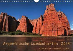 Argentinische Landschaften 2019 (Wandkalender 2019 DIN A4 quer) von Zillich,  Bernd