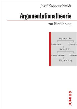 Argumentationstheorie zur Einführung von Kopperschmidt,  Josef