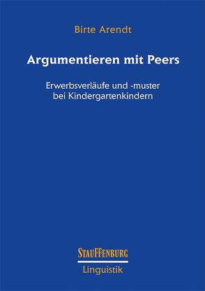 Argumentieren mit Peers von Arendt,  Birte
