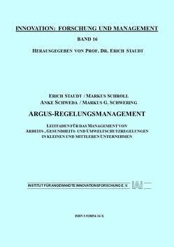 Argus-Regelungsmanagement von Schroll,  Markus, Schweda,  Anke, Schwering,  Markus, Staudt,  Erich