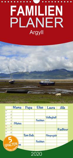 Argyll – Familienplaner hoch (Wandkalender 2020 , 21 cm x 45 cm, hoch) von de Mont-Sylvain,  Osmélian