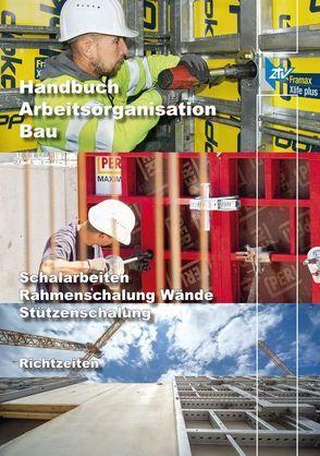 ARH-Tabelle Schalarbeiten Rahmenschalung Wände, Stützenschalung