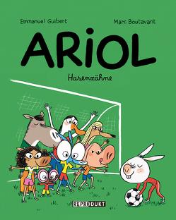 Ariol / Ariol 9 – Hasenzähne von Boutavant,  Marc, Guibert,  Emmanuel, von der Weppen,  Annette
