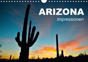 Arizona • Impressionen (Wandkalender 2018 DIN A4 quer) von Stanzer,  Elisabeth