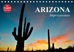 Arizona. Impressionen (Tischkalender 2019 DIN A5 quer) von Stanzer,  Elisabeth