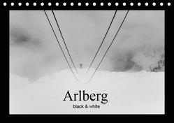 Arlberg black and white (Tischkalender 2019 DIN A5 quer) von Männel - studio-fifty-five,  Ulrich