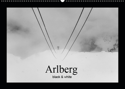 Arlberg black and white (Wandkalender 2019 DIN A2 quer) von Männel - studio-fifty-five,  Ulrich