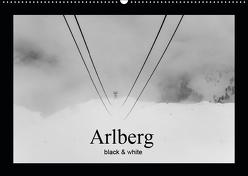 Arlberg black and white (Wandkalender 2019 DIN A2 quer) von Männel - studio-fifty-five,  Ulrich