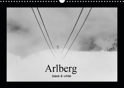 Arlberg black and white (Wandkalender 2019 DIN A3 quer) von Männel - studio-fifty-five,  Ulrich