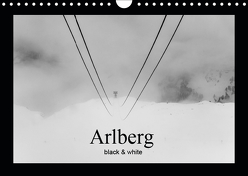 Arlberg black and white (Wandkalender 2019 DIN A4 quer) von Männel - studio-fifty-five,  Ulrich