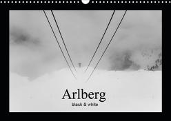 Arlberg black and white (Wandkalender 2020 DIN A3 quer) von Männel - studio-fifty-five,  Ulrich