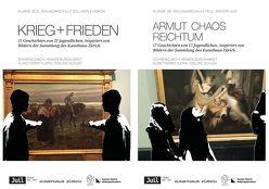 ARMUT CHAOS REICHTUM (1) und KRIEG + FRIEDEN von Burckhardt,  Renata