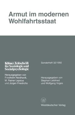 Armut im modernen Wohlfahrtsstaat von Leibfried,  Stephan, Voges,  Wolfgang