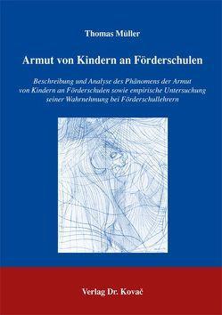 Armut von Kindern an Förderschulen von Mueller,  Thomas