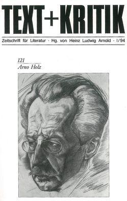 Arno Holz von Arnold,  Heinz Ludwig