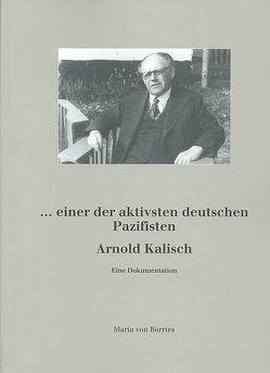 Arnold Kalisch von Borries,  Maria von