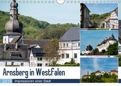 Arnsberg in Westfalen (Wandkalender 2018 DIN A4 quer) von Möller,  Christof