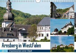 Arnsberg in Westfalen (Wandkalender 2019 DIN A4 quer) von Möller,  Christof
