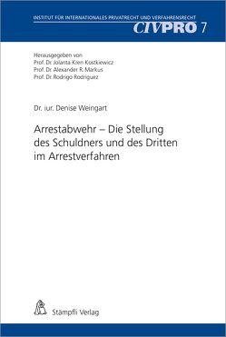 Arrestabwehr von Weingart,  Denise