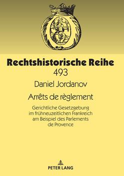Arrêts de règlement von Jordanov,  Daniel