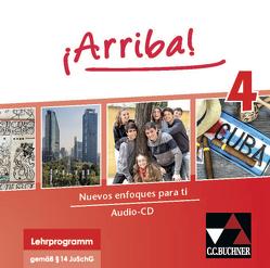 ¡Arriba! / ¡Arriba! Audio-CD Collection 4 von Bravo,  Susanne, Hohmann,  Melanie, Kyr,  Matthias, Marx,  Jochen, Sallay,  Caroline Bertomeu