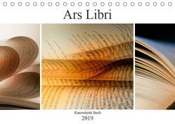 Ars Libri – Kunstwerk Buch (Tischkalender 2019 DIN A5 quer) von Kraetschmer,  Marion