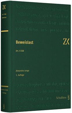 Art. 8 ZGB von Jungo,  Alexandra