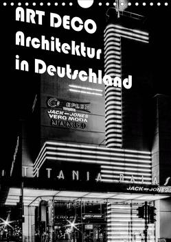 ART DECO Architektur in Deutschland (Wandkalender 2020 DIN A4 hoch) von Robert,  Boris