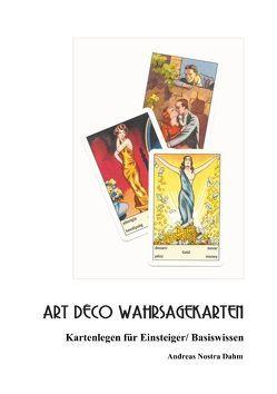 Art Deco Wahrsagekarten von Nostra Dahm,  Andreas