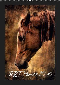 Art Horse 2019 (Wandkalender 2019 DIN A2 hoch) von Peters,  Sabine