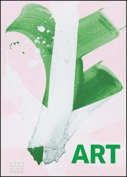 Art Kalender 2022 – Malerei heute – DUMONT Kunst-Kalender – Poster-Format 50 x 70 cm