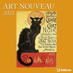 Art Nouveau 2021 – Wand-Kalender – Broschüren-Kalender – 30×30 – 30×60 geöffnet – Kunst-Kalender