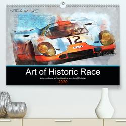 Art of Historic Race (Premium, hochwertiger DIN A2 Wandkalender 2020, Kunstdruck in Hochglanz) von Michalak,  Bernd
