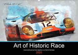 Art of Historic Race (Wandkalender 2020 DIN A2 quer) von Michalak,  Bernd
