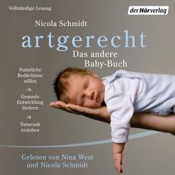 artgerecht – Das andere Baby-Buch von Schmidt,  Nicola, West,  Nina