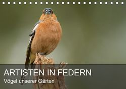 Artisten in Federn – Vögel unserer Gärten (Tischkalender 2019 DIN A5 quer) von Krebs,  Alexander