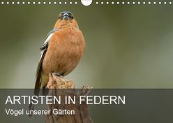 Artisten in Federn – Vögel unserer Gärten (Wandkalender 2019 DIN A4 quer) von Krebs,  Alexander