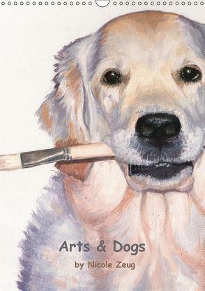Arts & Dogs (Wandkalender 2018 DIN A3 hoch) von Zeug,  Nicole