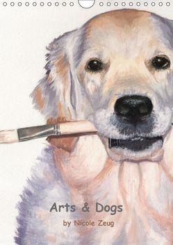 Arts & Dogs (Wandkalender 2019 DIN A4 hoch) von Zeug,  Nicole