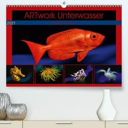 Artwork Unterwasser – Erlebnis Tauchen (Premium, hochwertiger DIN A2 Wandkalender 2021, Kunstdruck in Hochglanz) von Gödecke,  Dieter