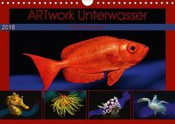 Artwork Unterwasser – Erlebnis Tauchen (Wandkalender 2018 DIN A4 quer) von Gödecke,  Dieter