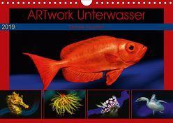 Artwork Unterwasser – Erlebnis Tauchen (Wandkalender 2019 DIN A4 quer) von Gödecke,  Dieter