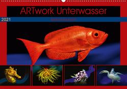Artwork Unterwasser – Erlebnis Tauchen (Wandkalender 2021 DIN A2 quer) von Gödecke,  Dieter