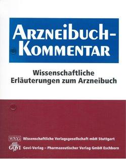 Arzneibuch-Kommentar von Bracher,  Franz, Heisig,  Peter, Langguth,  Peter, Mutschler,  Ernst, Schirmeister,  Tanja, Scriba,  Gerhard K. E., Stahl-Biskup,  Elisabeth, Troschütz,  Reinhard