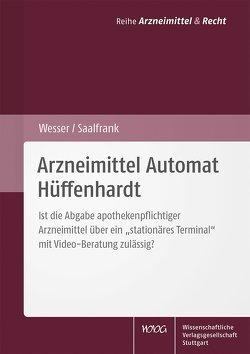Arzneimittel Automat Hüffenhardt von Saalfrank,  Valentin, Wesser,  Sabine