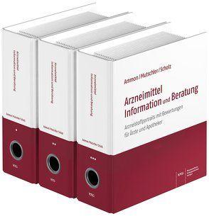 Arzneimittel Information und Beratung von Ammon,  Hermann P.T., Mohr,  Rainer, Mutschler,  Ernst, Scholz,  Hasso