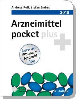 Arzneimittel pocket plus 2016 von Endres,  Stefan, Ruß,  Andreas
