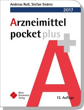 Arzneimittel pocket plus 2017 von Endres,  Stefan, Ruß,  Andreas